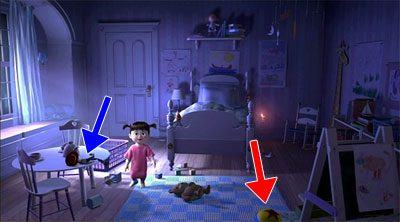 Member Request Repost - Easter Eggs Found In Monsters, Inc. 4