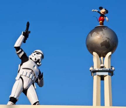Storm Troopers Singing to Let it Go and other Faves at Star Wars Weekends! In Panda Vision! 6