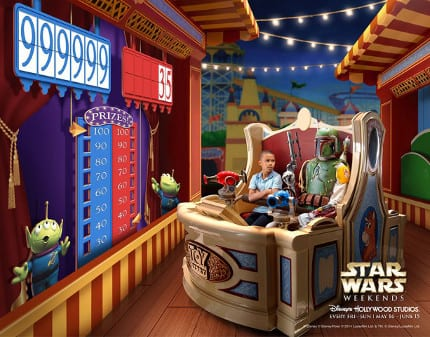 Creating The Art For Star Wars Weekends 14
