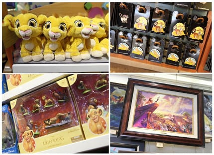 Commemorative Merchandise for the 20th Anniversary of Disney's 'The Lion King' at Disney Parks 9