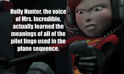 Animators had to match Hunter's intensity displayed in the dialogue read.