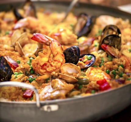 Disney Cruise Line Summer Recipe: Seafood Paella 5