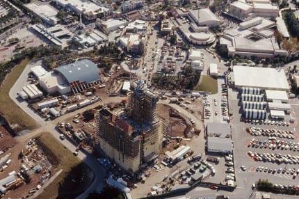 Vintage Walt Disney World: Sunset Boulevard, Under Construction 1