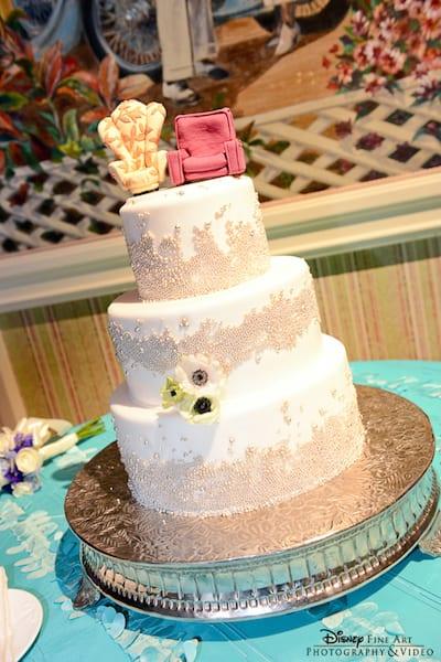 Our Favorite Disney Wedding Cakes 1
