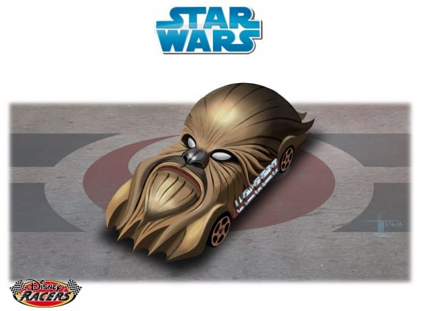 Readers Select First-Ever 'Fan Choice' Star Wars-Themed Disney Racer 5
