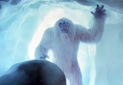 Exclusive Interview With The Abominable Snowman From Inside The Matterhorn at Disneyland Park 3