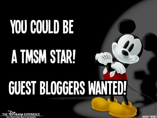 Guest Bloggers Wanted! Here's Your Chance to be a TMSM Star!! 4