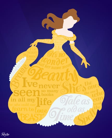 Belle Typography 24