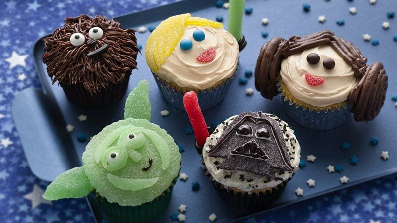 Star Wars Cupcakes ~ Recipe 3