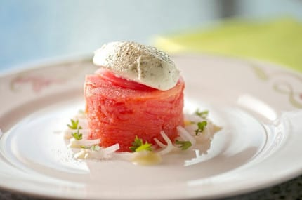 Disney Cruise Line Summer Recipe: Tomato Cake 5