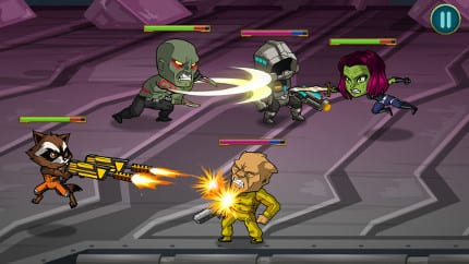 """Marvel Launches """"Guardians of the Galaxy: The Universal Weapon,"""" the Official Mobile Game Inspired by the Film 10"""
