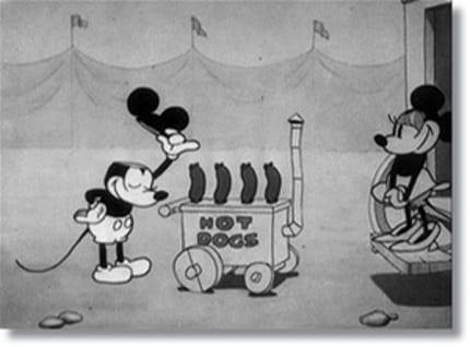 Mickey Tips Ears