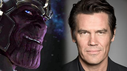 Thanos and Josh Brolin