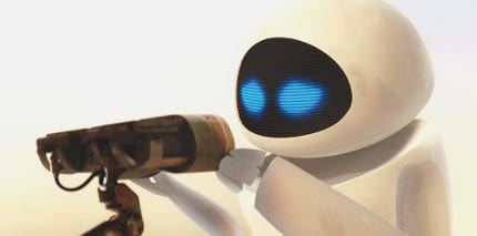 Especially because we kind of thought WALL•E was going to be the one to save EVE in the end. Surprise plot twist.