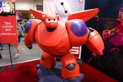 Photos from the Big Hero 6 Booth at Comic-Con 6