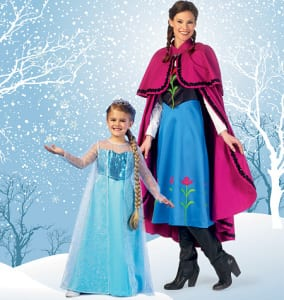 A crafty solution to the Frozen dress shortage ~ Repost! 5