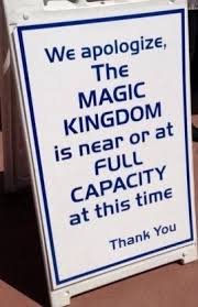 Walt Disney World Capacity Closure Phase Information for the Holiday Weekend 13