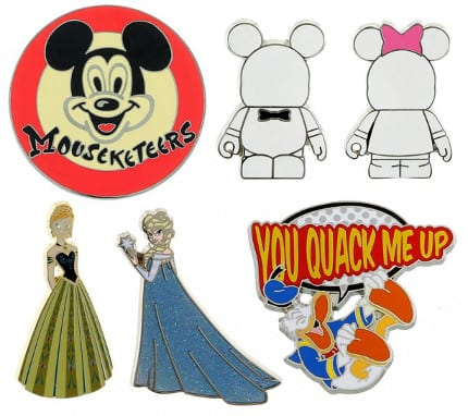 Spotlight on New Pins Arriving in July 2014 at Disney Parks 1