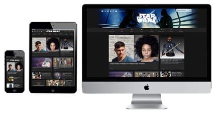 StarWars.com Relaunches with Interactive Experiences, Exclusive News and Cross-Platform Compatibility 4
