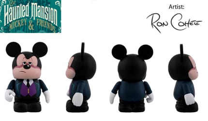 Vinylmation Haunted Mansion Mickey and Gang Combo 3