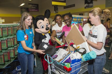Disney VoluntEARS Celebrate 2.5 million Back-to-School Donations with Day of Service at A Gift For Teaching 16