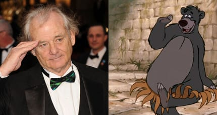 Billy Murray To Play Baloo In Live Action The Jungle Book 2