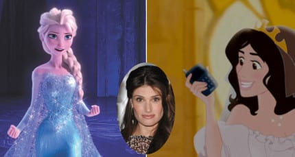 You Wouldn't Believe What Characters Are Voiced By The ...Enchanted Idina Menzel Animated