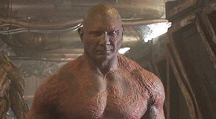 Learn How Dave Bautista caught the Acting Bug in Marvel's Guardians of the Galaxy 1