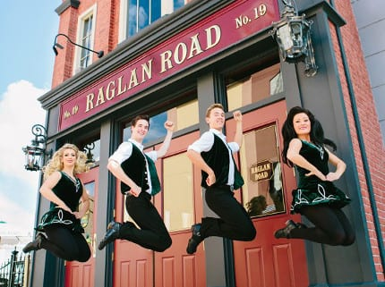 Plan Ahead for 3rd Annual 'Great Irish Hooley' August 29-September 1 at Downtown Disney 2