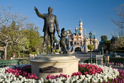 Partners-Statue-At-Disneyland-Park