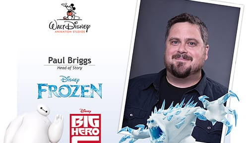 Disney 'Frozen' Paul Briggs Signing 4