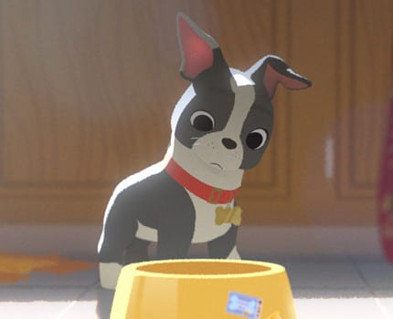 Winston the Terrier Revealed As Star of Disney's Feast 3