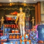 Halloween Merchandise Displays at Hollywood Studios