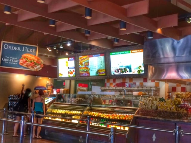 Earl of Sandwich, Downtown Disney Marketplace. One of our faves! 10