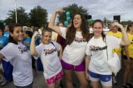 Central Florida Disney VoluntEARS Take Wellness to Heart at AHA Walk 1
