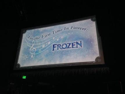 Disney from a Teen's Perspective: Frozen Sing-along 14