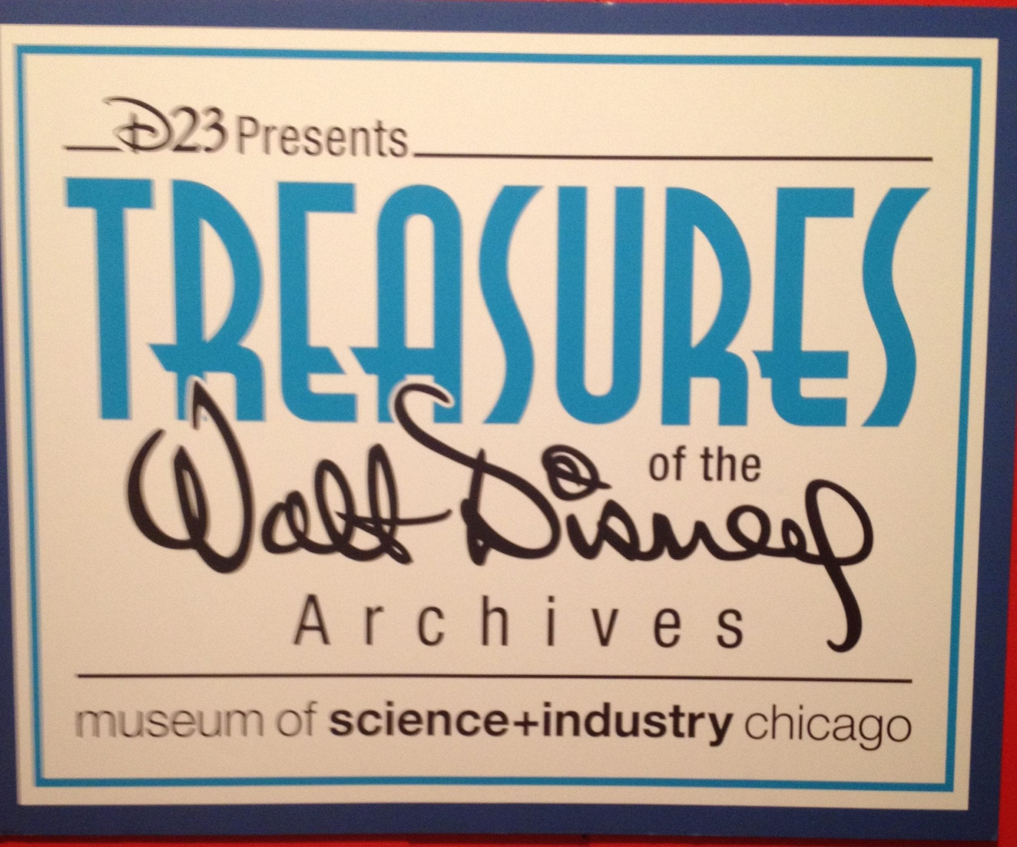 Treasures Of The Walt Disney Archives Review