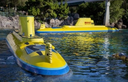 Finding Nemo Submarine Voyage Ready to Dive Again September 27 at Disneyland Park 2