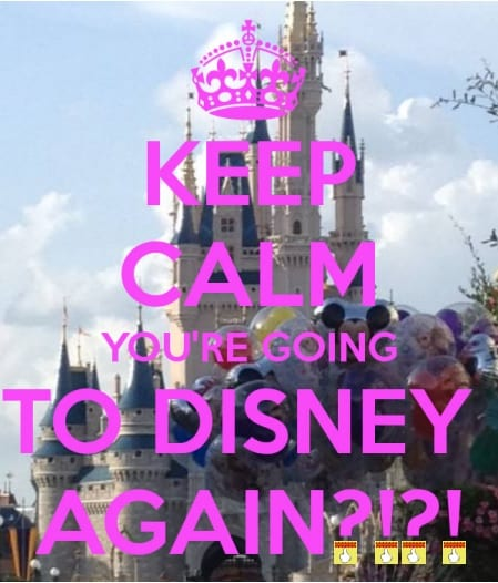 """Great Answers to """"Why are you going to Disney, AGAIN???"""" 24"""
