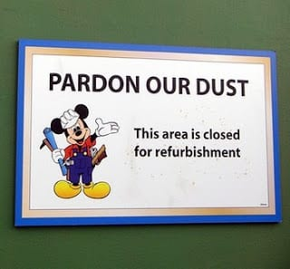 Current Walt Disney World Refurbishment/Closure List! Know Before You Go! 1