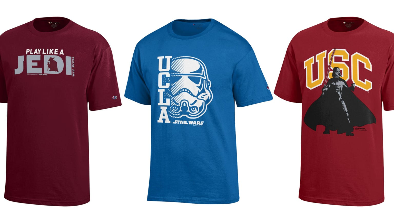 Star Wars Meets College Sports in New Apparel Line 3