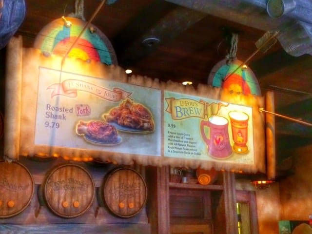 Recipe for LeFous Brew, Gaston's Tavern at New Fantasyland 5