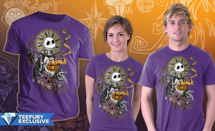 New Nightmare Before Christmas Inspired Shirts From TeeFury Today Only!! 2