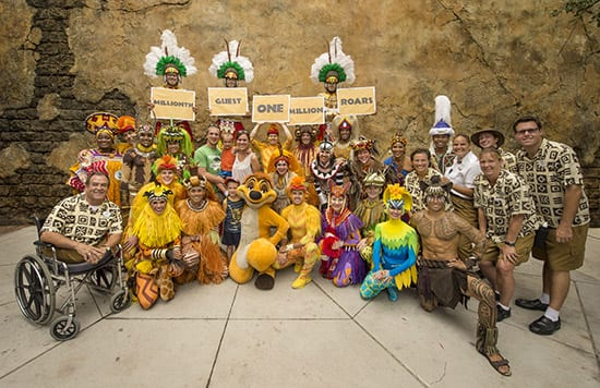 'Festival of the Lion King' Celebrates 1 Million Guests at Disney's Animal Kingdom Since Reopening 22