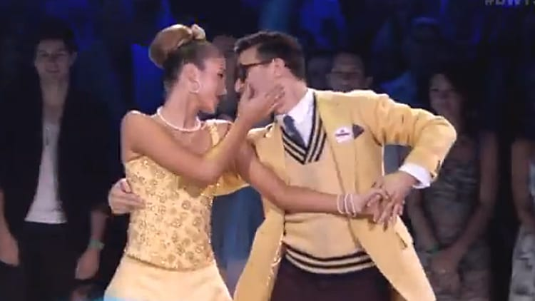"Channeling Carl and Ellie from ""Up"" on Dancing With The Stars 4"