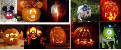 Pumpkin Carving Disney Style 5