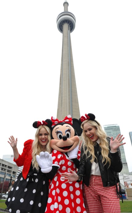 Minnie Mouse Brings Her Signature Style to Toronto Fashion Week 32