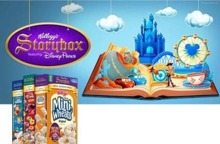 Play Games, Build Fireworks Shows & More With Kellogg's Storybox App 2