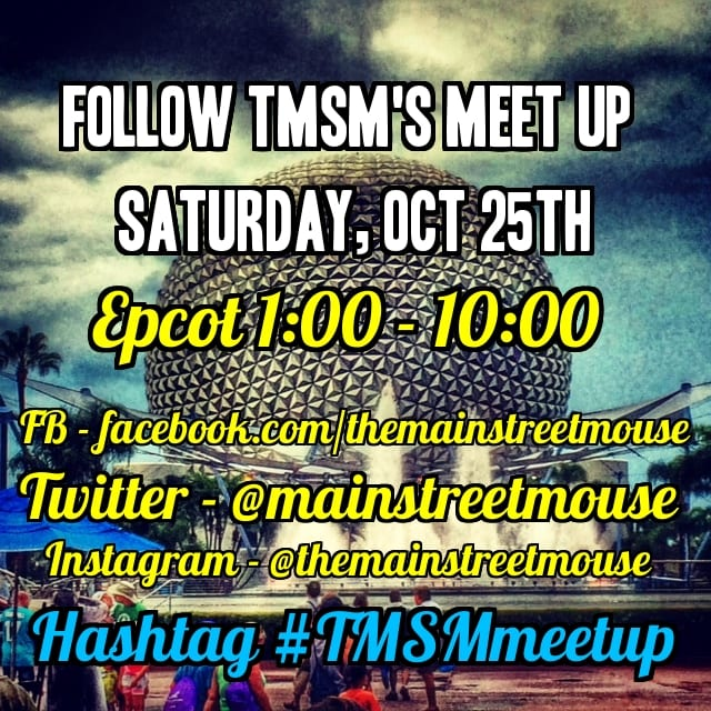 Follow TMSM's Meet Up on October 25th! #TMSMmeetup 8
