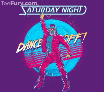 Even More Guardians of the Galaxy Inspired TeeFury Shirts Today Only!!! 8